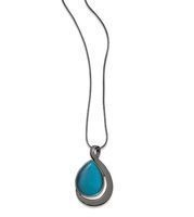 Lia Sophia Waterway Deep Sea Necklace