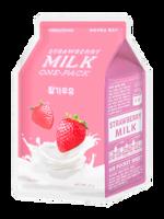 A'Pieu: Strawberry Milk One Pack