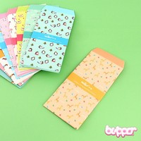 Kawaii Animal Themed Envelopes
