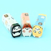 Kawaii Chubby Animals Eraser