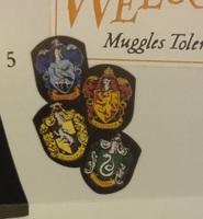 Hogwarts House Magnets