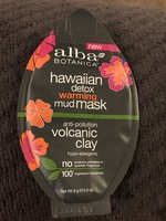 alba Botanica Hawaiian Detox Warming Mud Mask
