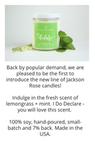 Jackson Rose candle
