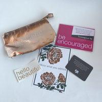 Loved & Blessed Makeup Bag Rose Gold