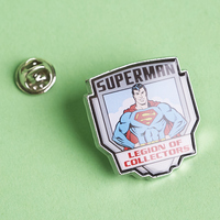 Superman Pin Legion of Collectors