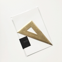 TRIANGLE DRAFTING RULER