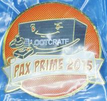 Loot Crate Pax Prime 2015 Crate Pin