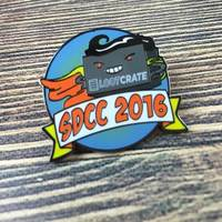 Loot Crate Labs Exclusive SDCC 2016 Enamel Pin