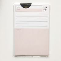 "Cloth & Paper - MEETING ""NOTE"" PAD"