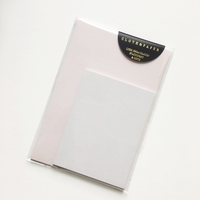 Cloth & Paper - GREY & PINK MEMO NOTES