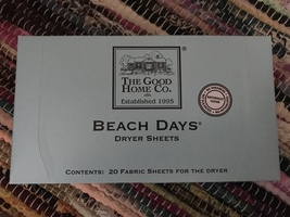 The Good Home Co. Beach Days Dryer Sheets