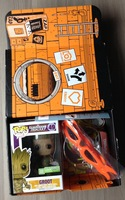 Heroes TMNT Sewer Hangout Loot Crate August 2014 Empty box