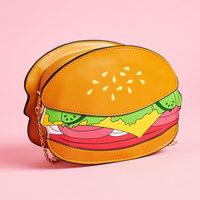 Hamburger Shaped Crossbody Purse