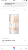 Milk makeup blur stick