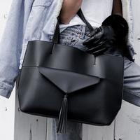 Chloe Tote in Black by Summer and Rose