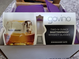 Govino Whiskey Glasses set of two