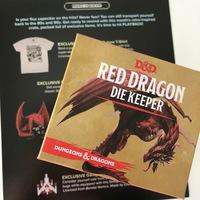 Exclusive Dungeons & Dragons Die holder