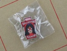 Marvel Collector Corps Spider Woman Pin