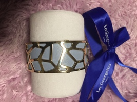Les Georgettes Bracelet in Gold with BOUGAINVILLIERS / ICE BLUE band