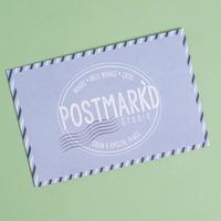 Postmark'd Postcard