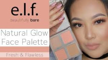 Elf natural glow face palette