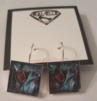 Barbara and Adams earrings