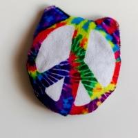 Cat Peace Sign Catnip Toy