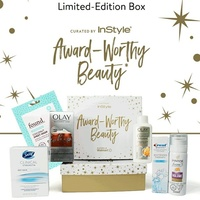 {NWT} COMPLETE☆6pc InStyle Curated Award-Worthy Walmart Beauty Box☆
