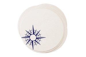 Nautical Compass Coasters