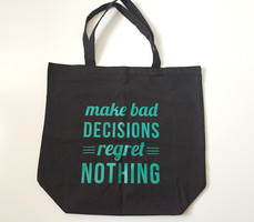 No Regrets Oversized Tote by S&S