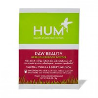 Hum Raw Beauty Green Superfood Powder in Tahitian Vanilla & Berry Infusion