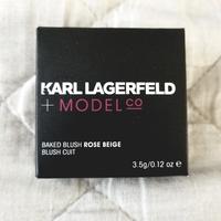 Karl Lagerfeld + ModelCo Baked Blush in Rose Beige
