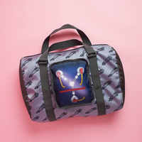 Back to the Future Flux Capacitor Collapsible Duffel