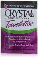 Crystal Body Deodorant Towelette