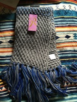 Rampage Blue & Gray Scarf