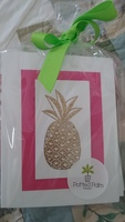 Potted Palm - Pineapple blank cards with envelopes 10 ct