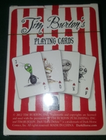 Tim Burton's playing cards