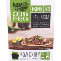 La Tortilla Factory Cocina Fresca Barbacoa Slow Cooker Sauce Starter