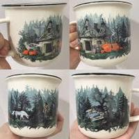 Owlcrate Mysterious Woods Mug