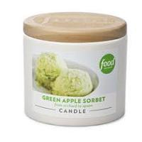 Food Network Green Apple Candle