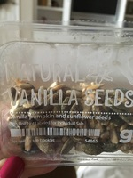 Graze Natural Vanilla Seeds