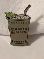 Maker's Mark Mint Julep Pin