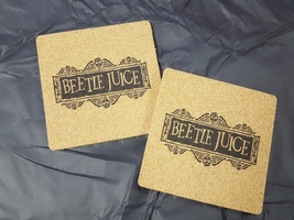 Beetle Juice coaster set
