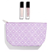 Julep Geometric Lilac Cosmetic Bag