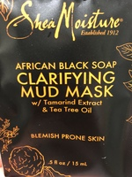 African Black Soap Clarifying Mud Mask