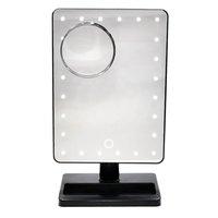 Crown Brush Pro LED Makeup Mirror