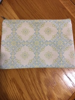 Cotton Zippered Pouch