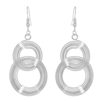 Venn Earrings - Silver