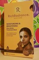 Rich Radiance Moisturizing & Brightening Shea Butter Treatment Mask