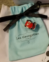 Les Georgettes Perroquet Ring in Silver
